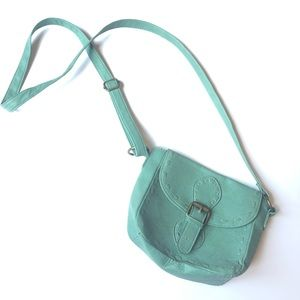 Turquoise Side Purse